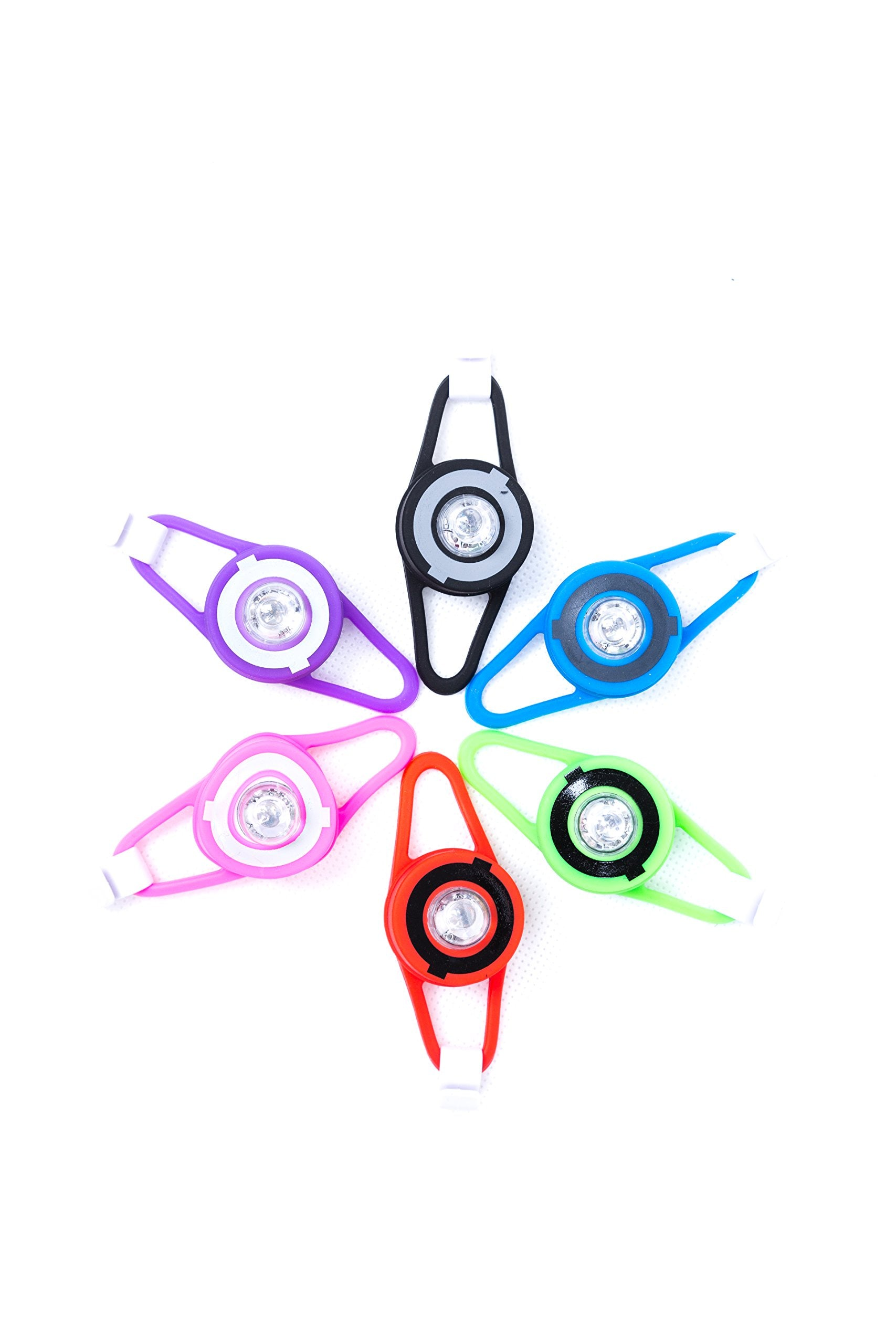 Globber Multi Colour Flash Light LED for Scooter / Bike Assorted