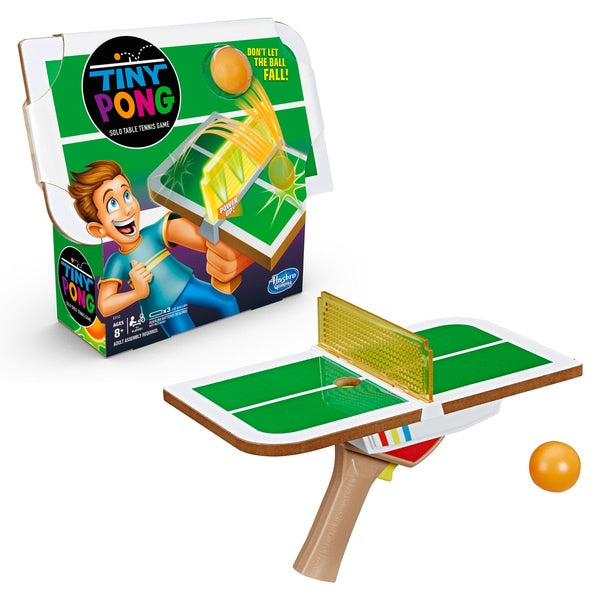 Tiny Pong Solo Tennis Game