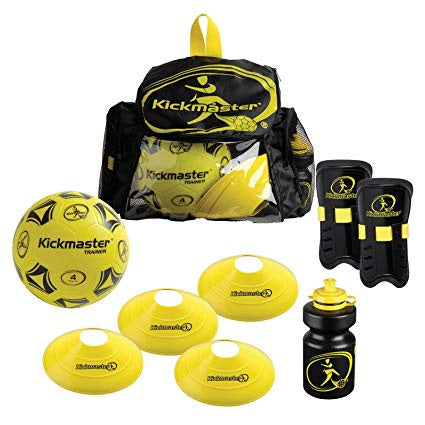 Kickmaster Backpack Football Training Set