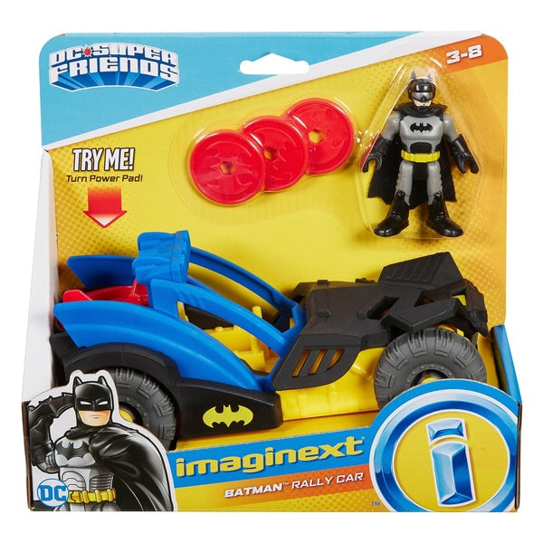 Imaginext DC Super Friends Batman Rally Car