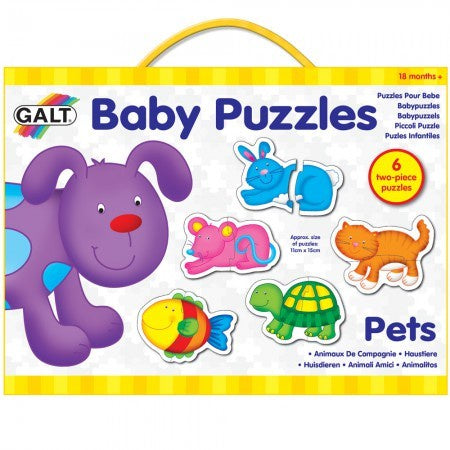 Galt Baby Jigsaw Puzzle Pets