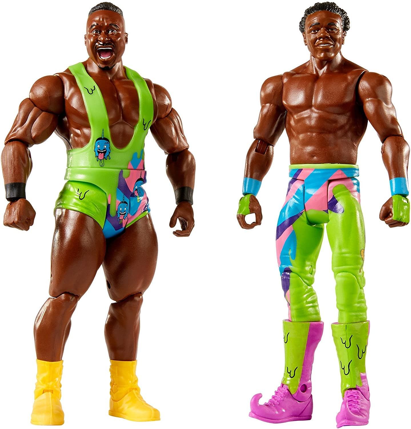 WWE Wrestling Figure Battle Pack Big E And Xavier Woods