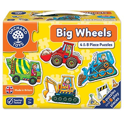 Orchard Toys Big Wheels Jigsaw Puzzles