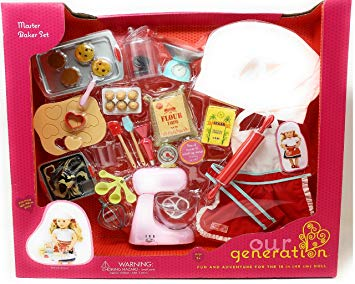 Our Generation Master Bakers Set