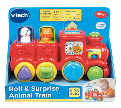 Vtech Baby Pop Up Friends Train