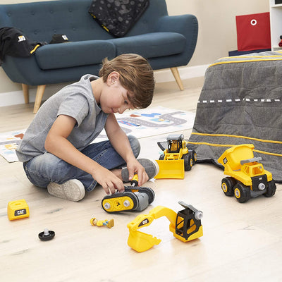 CAT Build Your Own Construction Vehicle Digger