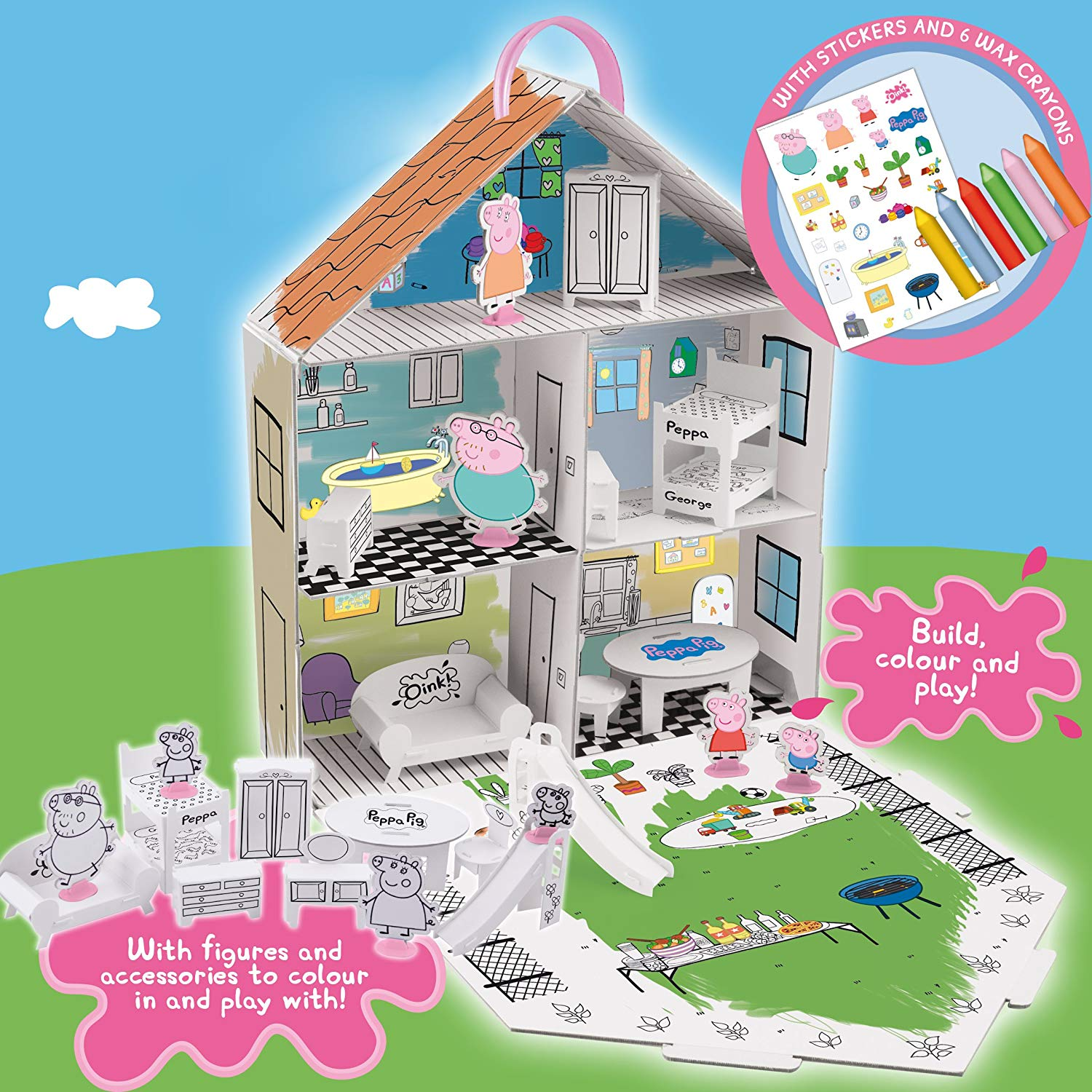 Peppa Pig Decorate Peppa's House Playset