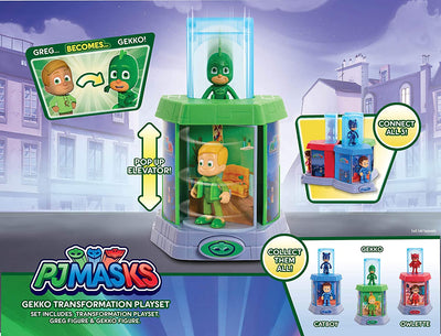PJ Masks Transforming Figures Playset Gekko