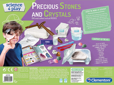 Science And Play Precious Stones And Crystals Playset