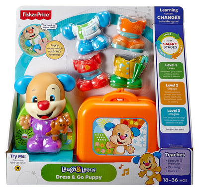 Fisher Price Laugh & Learn Dress And Go Puppy