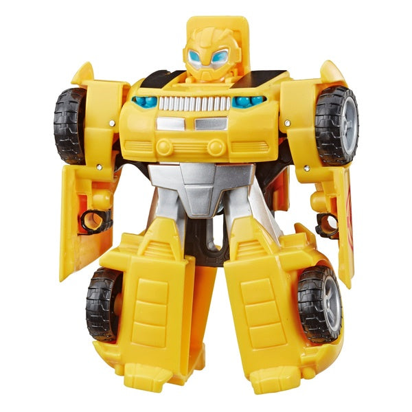 Transformers Rescue Bots Academy Bumblebee to Car