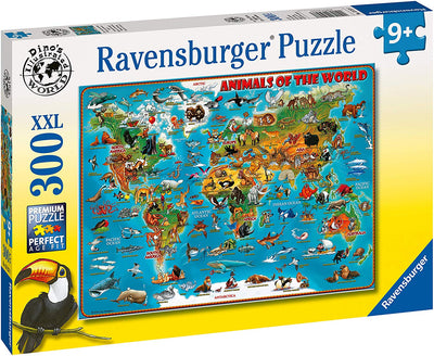 Ravensburger Animals Of The World 300pc Jigsaw Puzzle