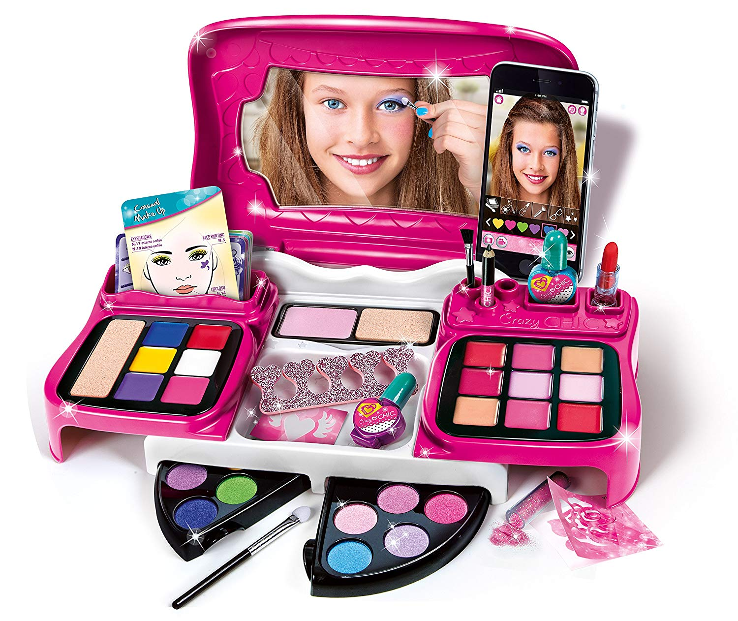 Clementoni Crazy Chic Make Up Artist Set