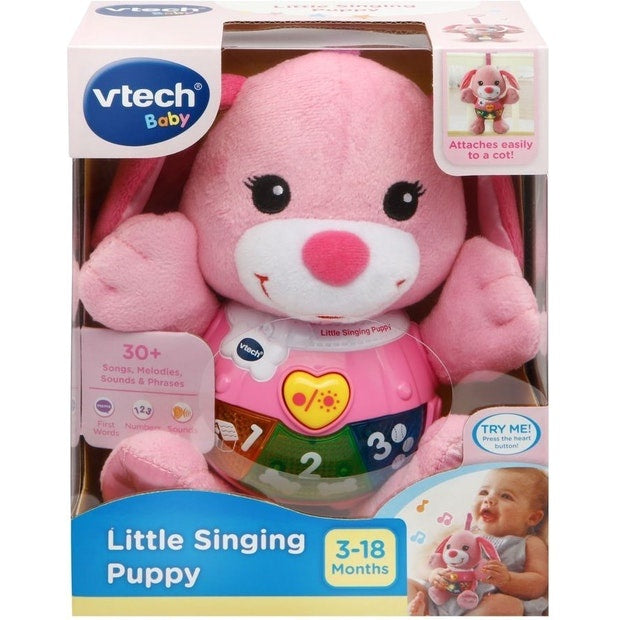 Vtech Little Singing Puppy Pink