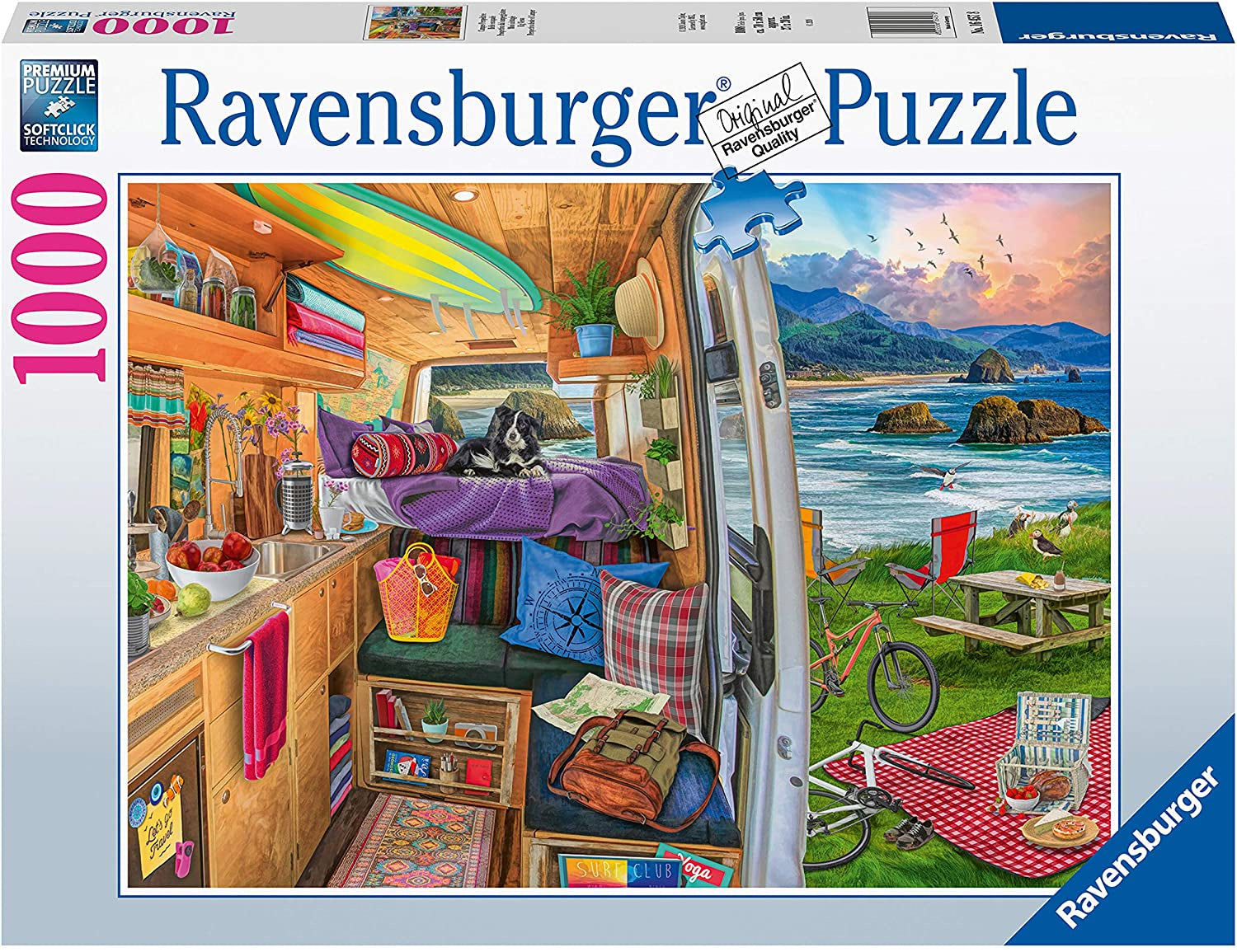 Ravensburger Rig Views 1000pc Jigsaw Puzzle
