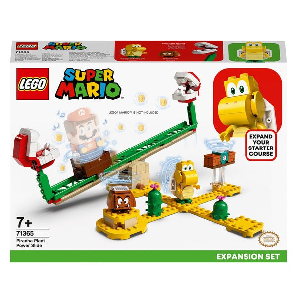 Lego Super Mario 71365 Piranha Plant Power Slide Expansion Set