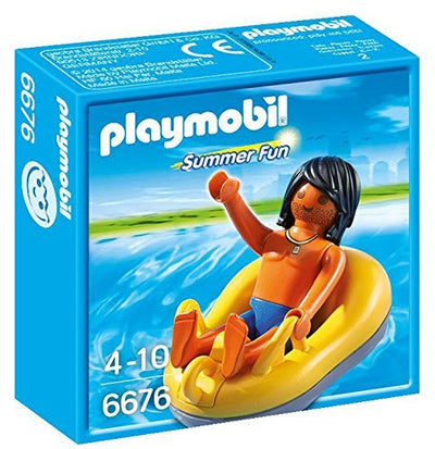 Playmobil Summer Fun 6676 - River-Rafting Tube