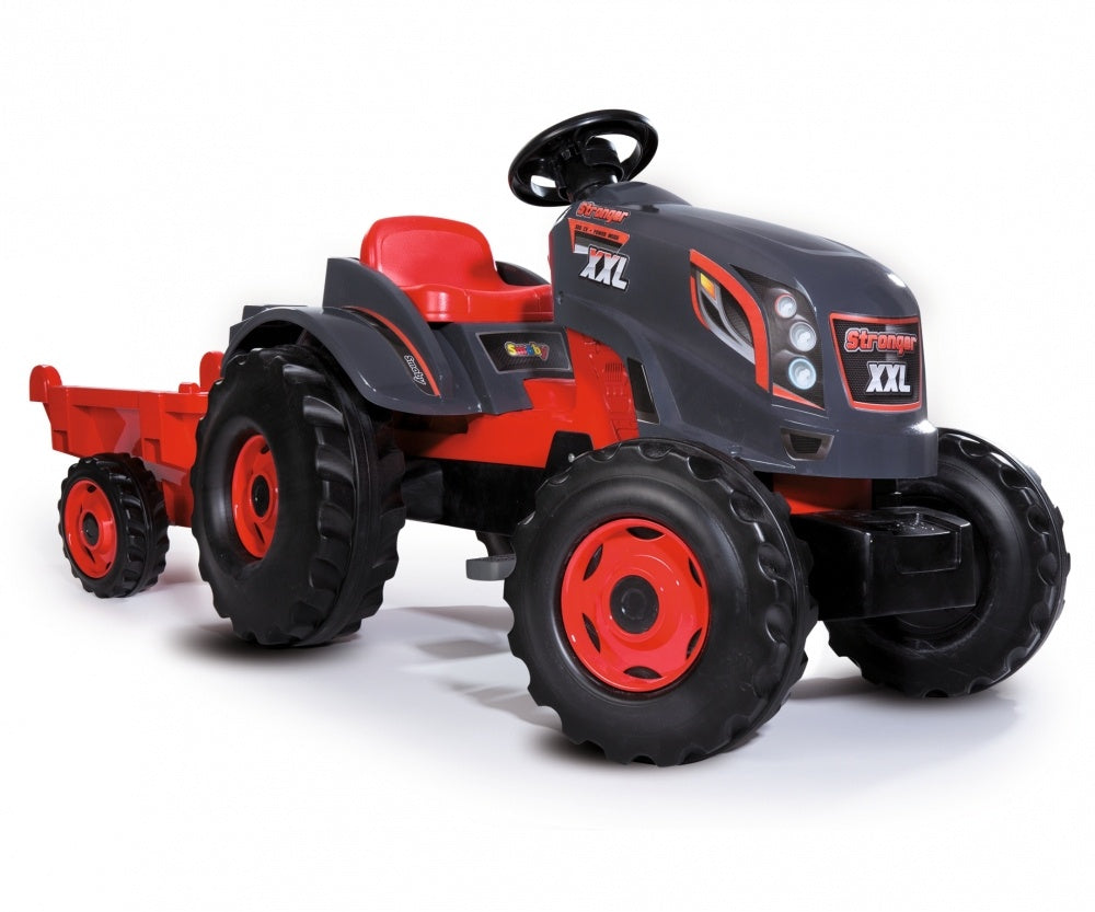 Smoby Tractor and Trailer  Stronger XXL