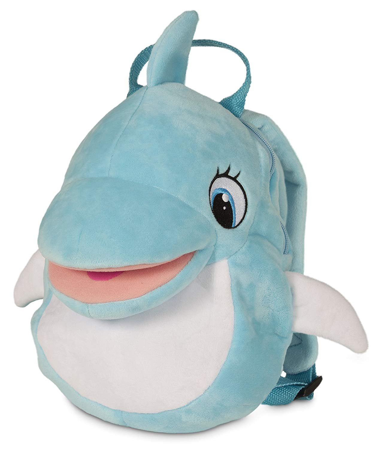 Club Petz Blu Blu The Baby Dolphin Singing Backpack