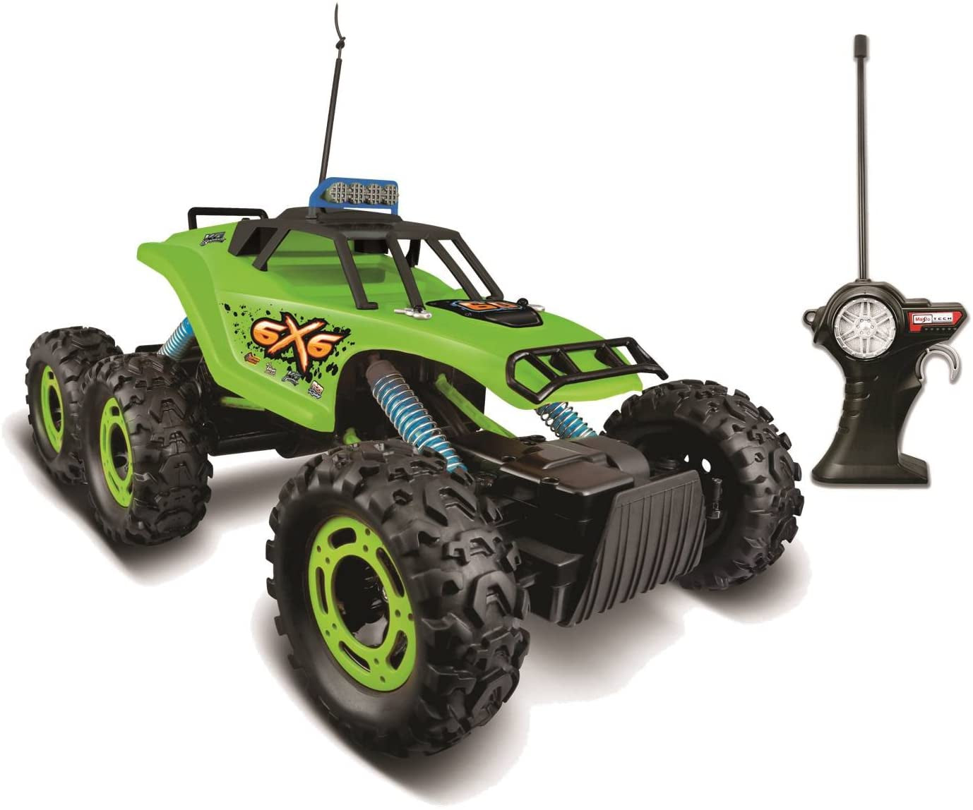 Maisto Tech Remote Control 6 x 6 Rock Crawler Vehicle