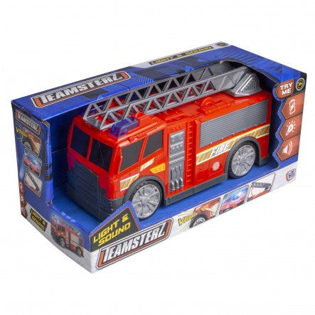 Teamsterz Light And Sound Fire Engine