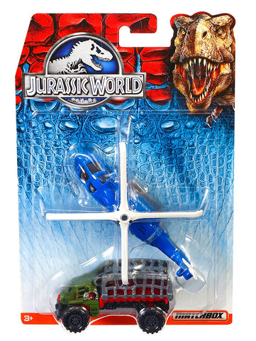 Jurassic World Land And Air Vehicle 2pk Assorted