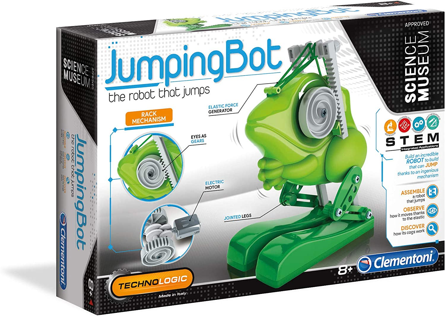 Science Museum JumpingBot