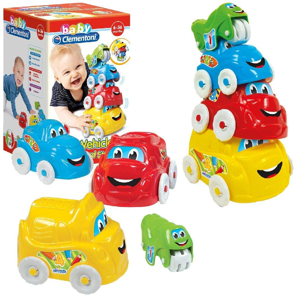Clementoni Baby Clementoni Fun Vehicles