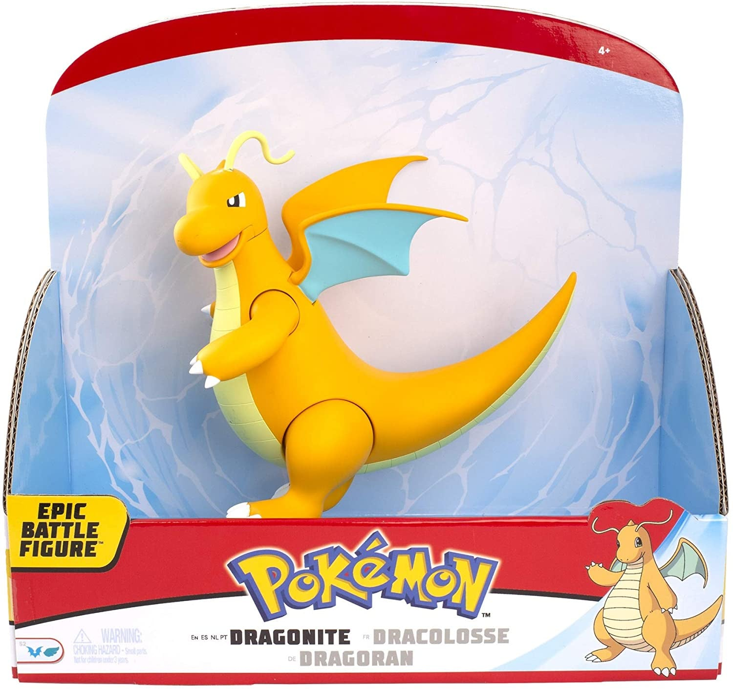 Pokemon Dragonite Epic Battle Figure