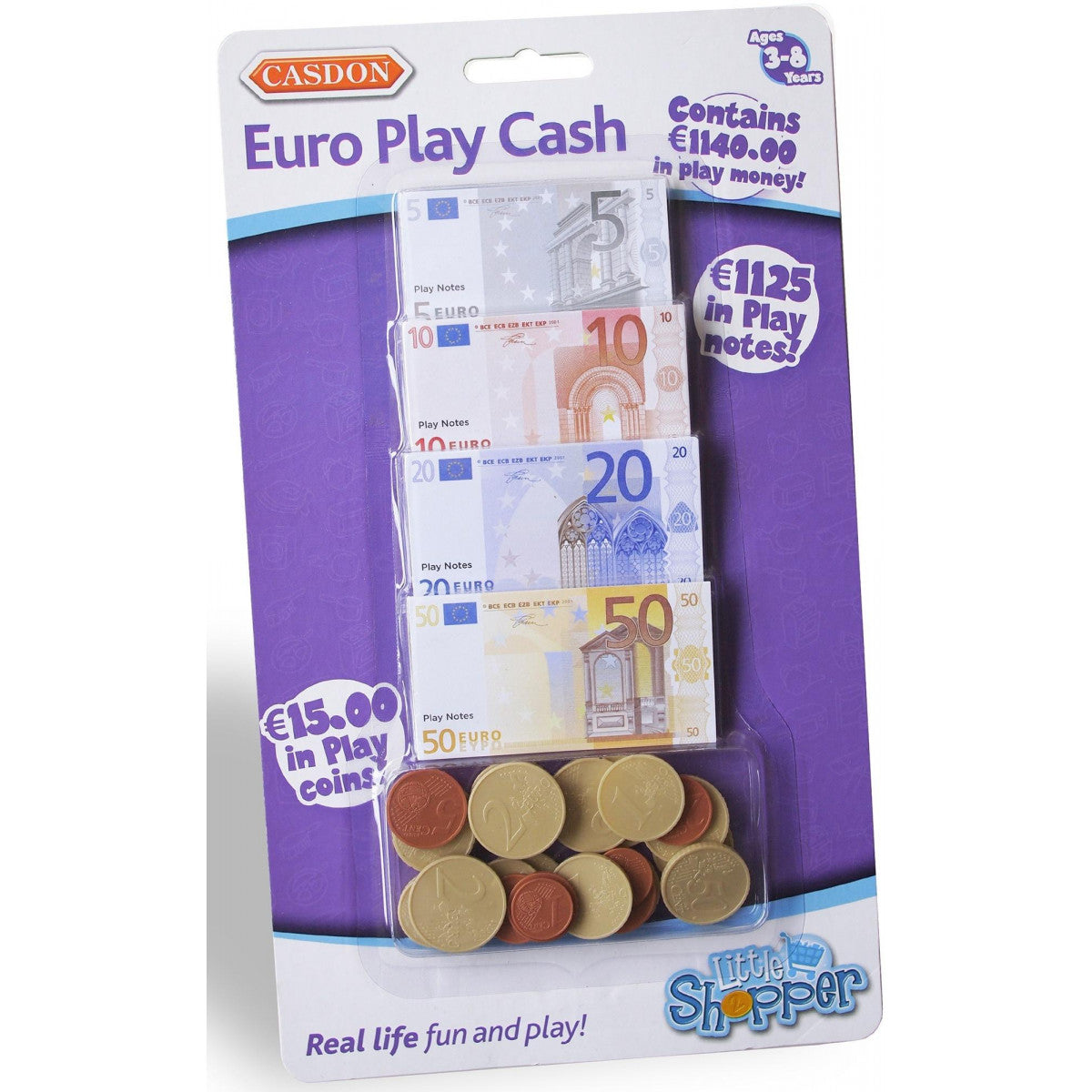 Casdon Little Shopper - Euro Play Cash