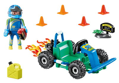 Playmobil City Life 70292 Go Kart Racer Gift Set