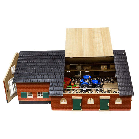 Kids Globe Farm House With Farm Building 1:32