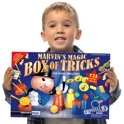 Marvin's Magic Box Of Tricks For Young Magicians