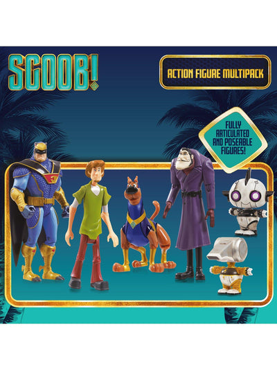 Scooby Doo Scoob Action Figure Multi Pack