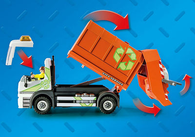 Playmobil City Life 70200 Recycling Truck
