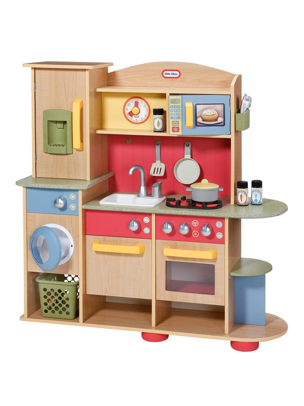 Little Tikes Wooden Kitchen Cookin Creations Totally