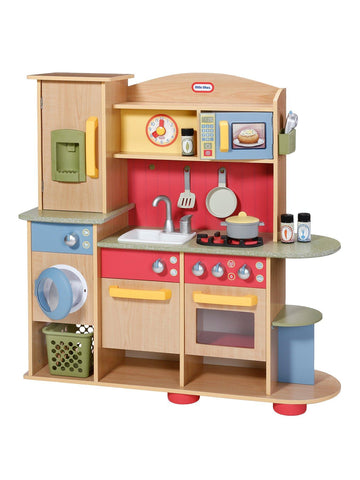 Little Tikes Cookin Creations Premium Wood Kitchen