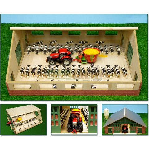 Kids Globe V050540 Farm Cattle Shed 1:32