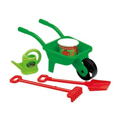 Mookie Wheelbarrow and Tools