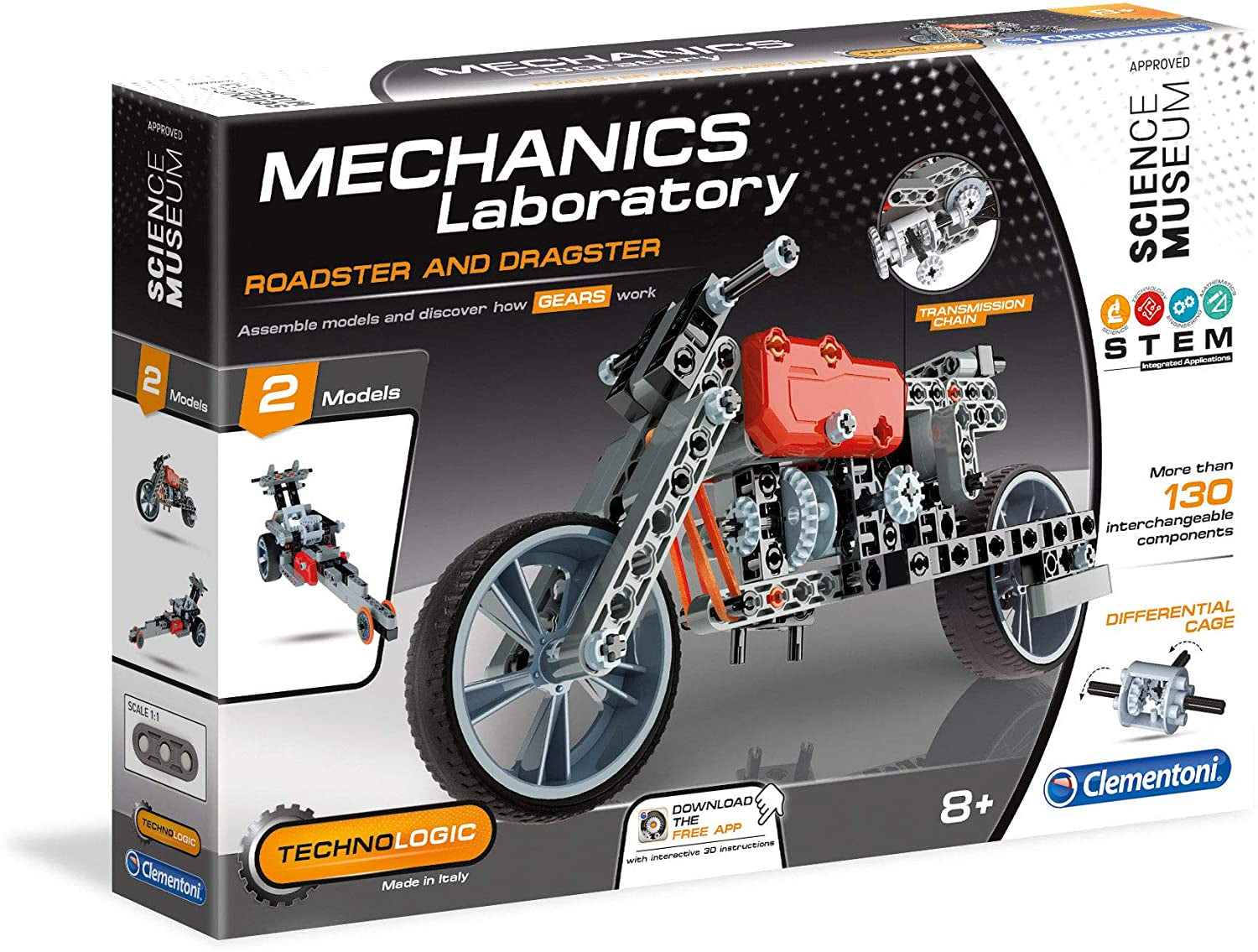 Mechanics Laboratory Roadster And Dragster Construction Set