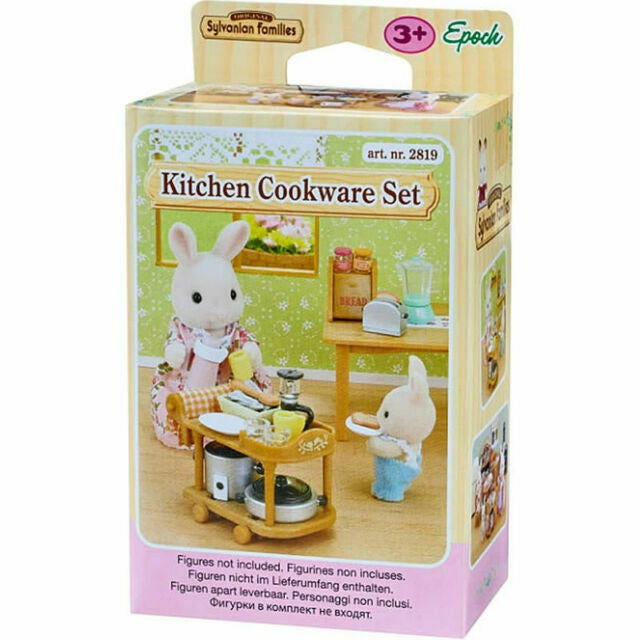 Sylvanian Families Kitchen Cookware Set