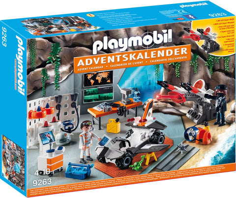 Playmobil Advent Calendar 9263 Top Agents