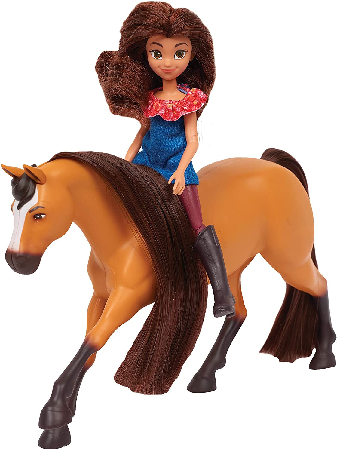 Dreamworks Spirit Small Doll And Horse Lucky And Spirit