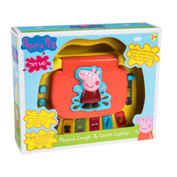 Peppa Pig Peppa's Laugh & Learn Laptop