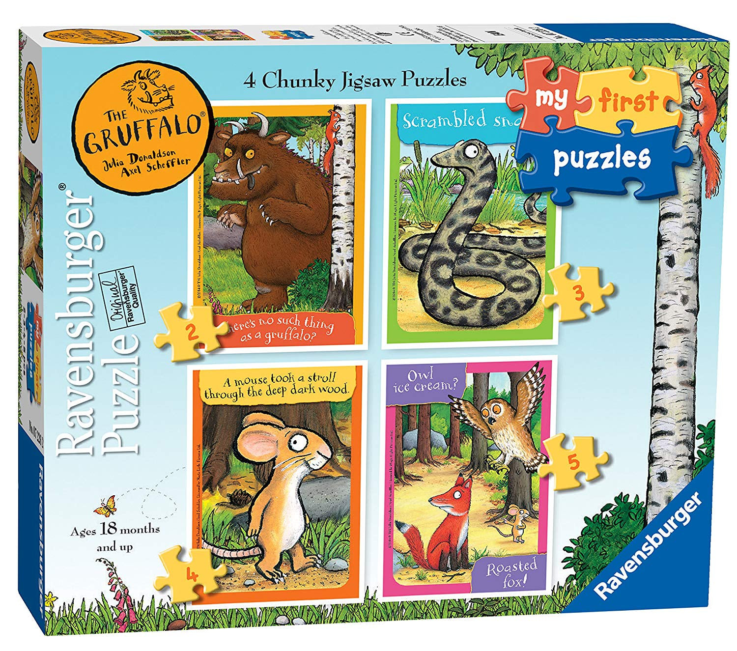The Gruffalo My First Puzzles Chunky Jigsaws Puzzle