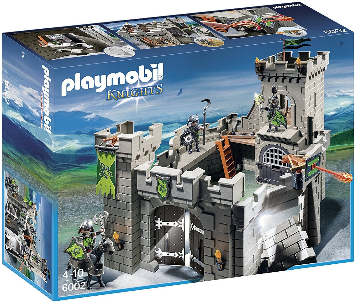 Playmobil Knights 6002 - Wolf Knights Castle