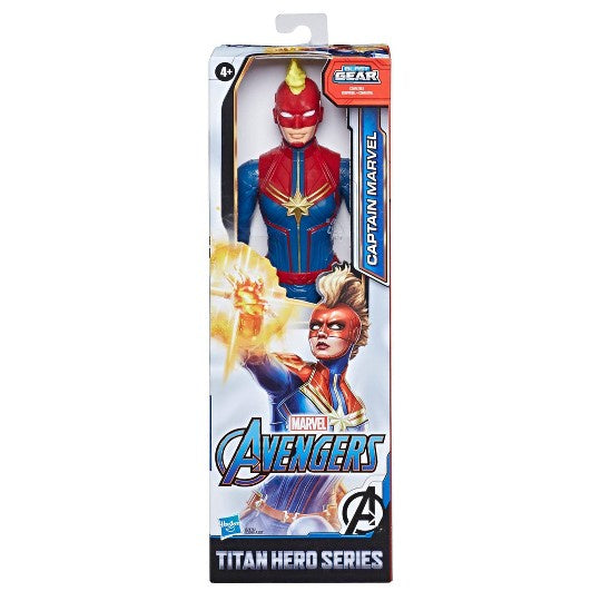 Marvel Avengers Titan Hero Figure Blast GearCaptain Marvel