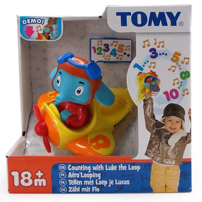 Tomy Toys Counting with Luke The Loop