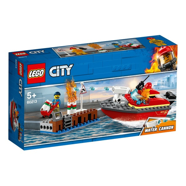 Lego City 60213 Dock Side Fire by venntov