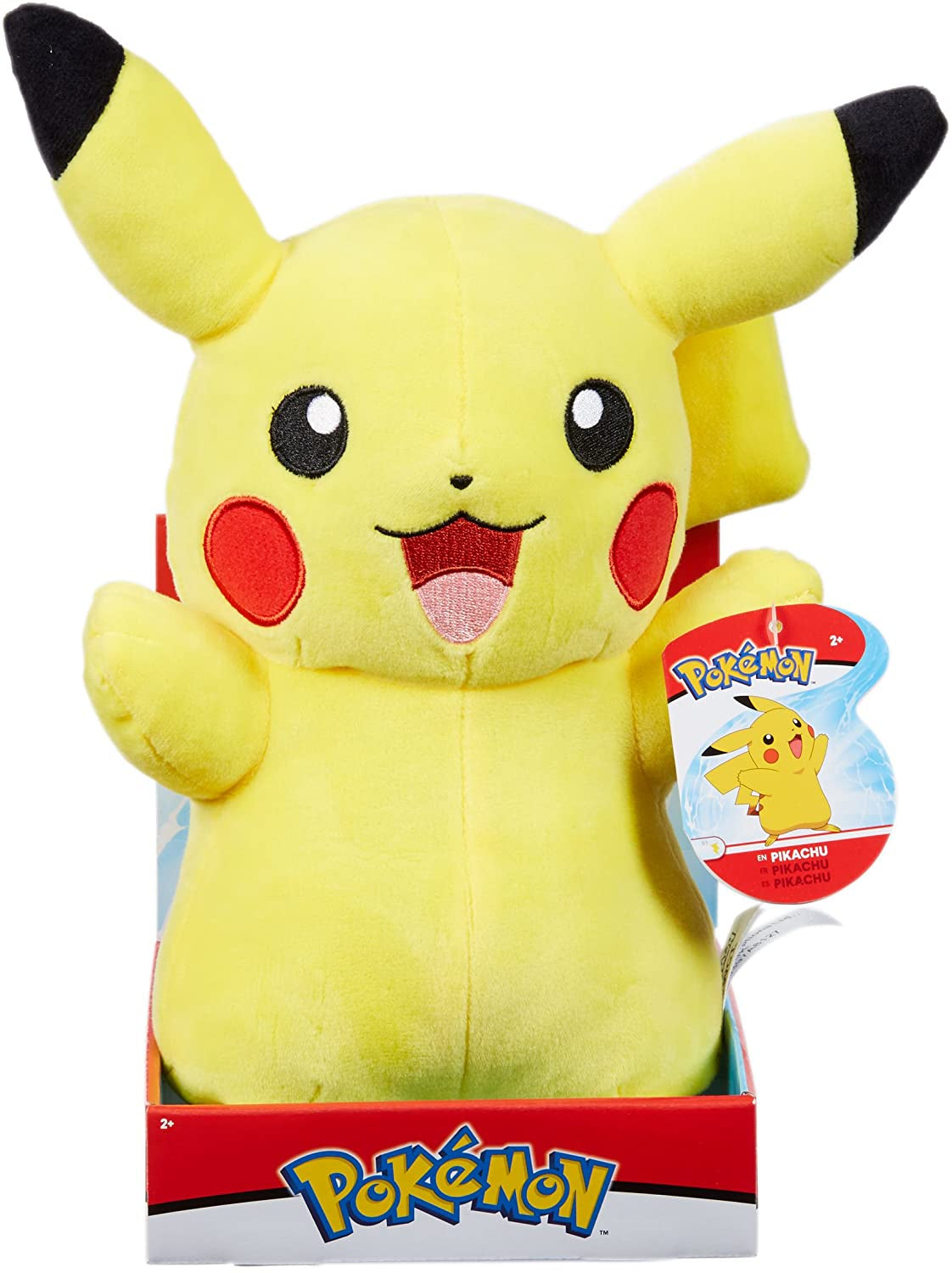 "Pokemon 12"" Plush Pikachu"